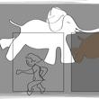 白いゾウとカバとネコの夢。(2/21*水)