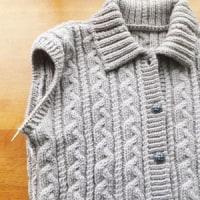 昔、編んだもの。