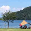 今日は 久々のSUP日和  ~近江八幡でデイキャンプ STARBOARDで琵琶湖を散歩~