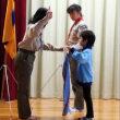 10月1日(日)の活動① 入隊式~ようこそ12団へ