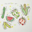 夏野菜 はんこ2