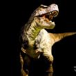 ティラノサウルスのリアルな動きに、びっくり!