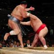 阿武咲は1敗守る 北勝富士の押し戻しに「しっかり対応できた」とのニュースす。