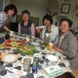 宮崎より、従姉の3姉妹来訪