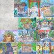 住吉神社を描く