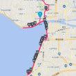 鳥取マラソン2週間前に27キロペース走。遅いか。2018山陰の冬ジョグ20
