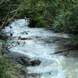 天に続く道 カムイワッカ湯の滝 女満別メルヘンの丘