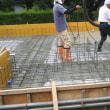 息子の家の基礎工事