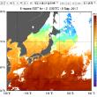 台風一過:真夏が再来