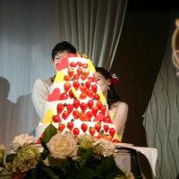 〇永君と〇野さんの結婚式