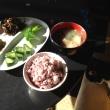 きゅうりの糠漬けとひじきの煮物