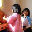 4歳児の保育室を訪問しました