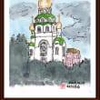 ロシアの風景(4)モスクワ市内で見た教会