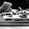 戦艦 摩耶 建造中写真