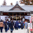 信州・上田 上田城跡にある「真田神社」へも参拝です………‼