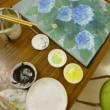 日本画入門のお教室にお邪魔しました!
