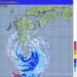 非常にゆっくりな台風5号