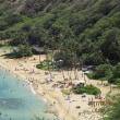 ハナウマ湾とカエルア・ビーチ と平等院   (ハワイ日付3日)