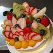 ★職員さんの結婚のお祝いケーキ☆