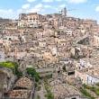 2005.04 イタリア、マテーラ: 崖の町(世界遺産)と崖上の町