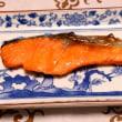 酸っぱいラーメン&焼き魚