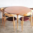 Hans J Wegner Dining Table FH 4602 & chair FH4104(1952)