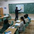 1月18日川口市立幸町小学校クラブ活動の風景。