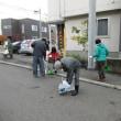 札幌はまだ初雪が降りません。今年は、町内会の秋の清掃は、暖かい中で実施することができました