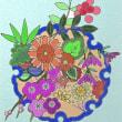 花のぬり絵