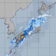 大荒の日本列島