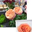 生花のバラと餡子のバラ