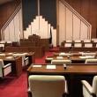 津山市議会9月定例議会議案採決の日