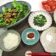 ☆鶏むね肉と菜の花のポン酢醤油炒め☆