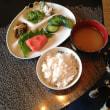 明太子と麦ご飯