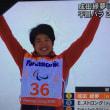 ピョンチャンパラリンピック 成田緑夢 バンクドスクローム金賞