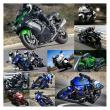 大型のオートバイと中型のオートバイ。(番外編vol.2269)