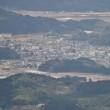 女鈴山の山頂から望遠レンズで見ると、飫肥の街がよく確認できました。 (Photo No.14162)
