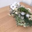 【スワッグレッスンへ】お花で季節を感じる暮らしを満喫しています!