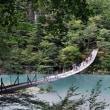 奥大井の吊り橋