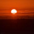 午後 順光から日没までの離陸シーン