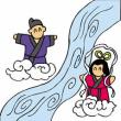 7月7日の日本民話 七夕さんの始まり