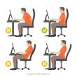 姿勢によって腰痛が変化する