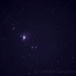 今日もベランダから「オリオン大星雲」 M42を撮る