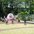 イースターエッグ@イクスピアリ、オリーブと噴水の広場