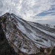 鳥海山のある風景(晩秋の鳥海山)