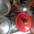 働き者のお鍋たち