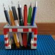 ペン立てを作ってみました。|土浦唯一のブロック教室