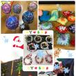 今週はクリスマスツリーの飾りを作りました!٩(๑>◡<๑)۶