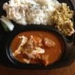 インド系マイルドチキンカレー・ポーク生姜焼き