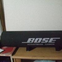 BOSE アクースティマスキャノンを設置した